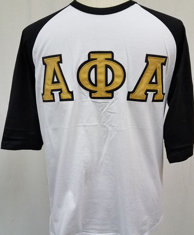 d9f8656b 3/4 Baseball Tee · Greek CertiPHIed Apparel · Online Store Powered ...