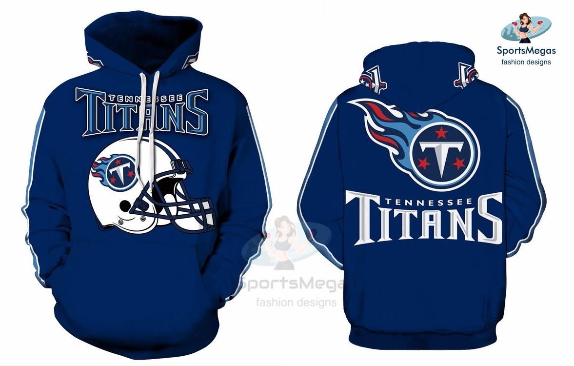 d378c3e9 Tennessee Titans NFL Football Team Hoodie