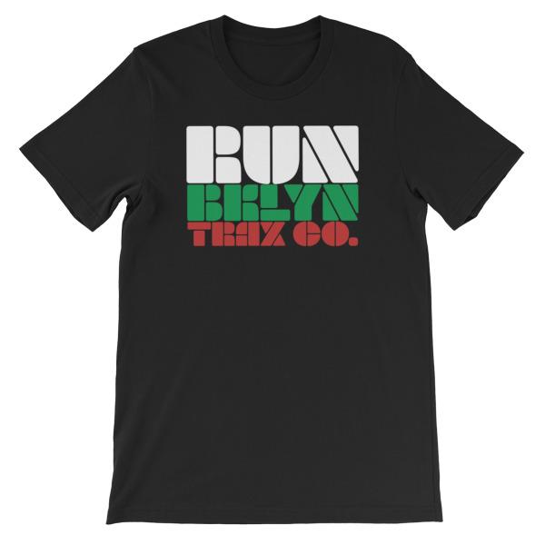 2018 RUN BKLYN TRAX CO Official Brand Short-Sleeve Unisex T-Shirt ... 6b2356305d6