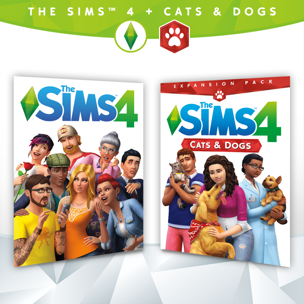 Sims 4 Deluxe Collection Expansion Bundle With Cats And Dogs