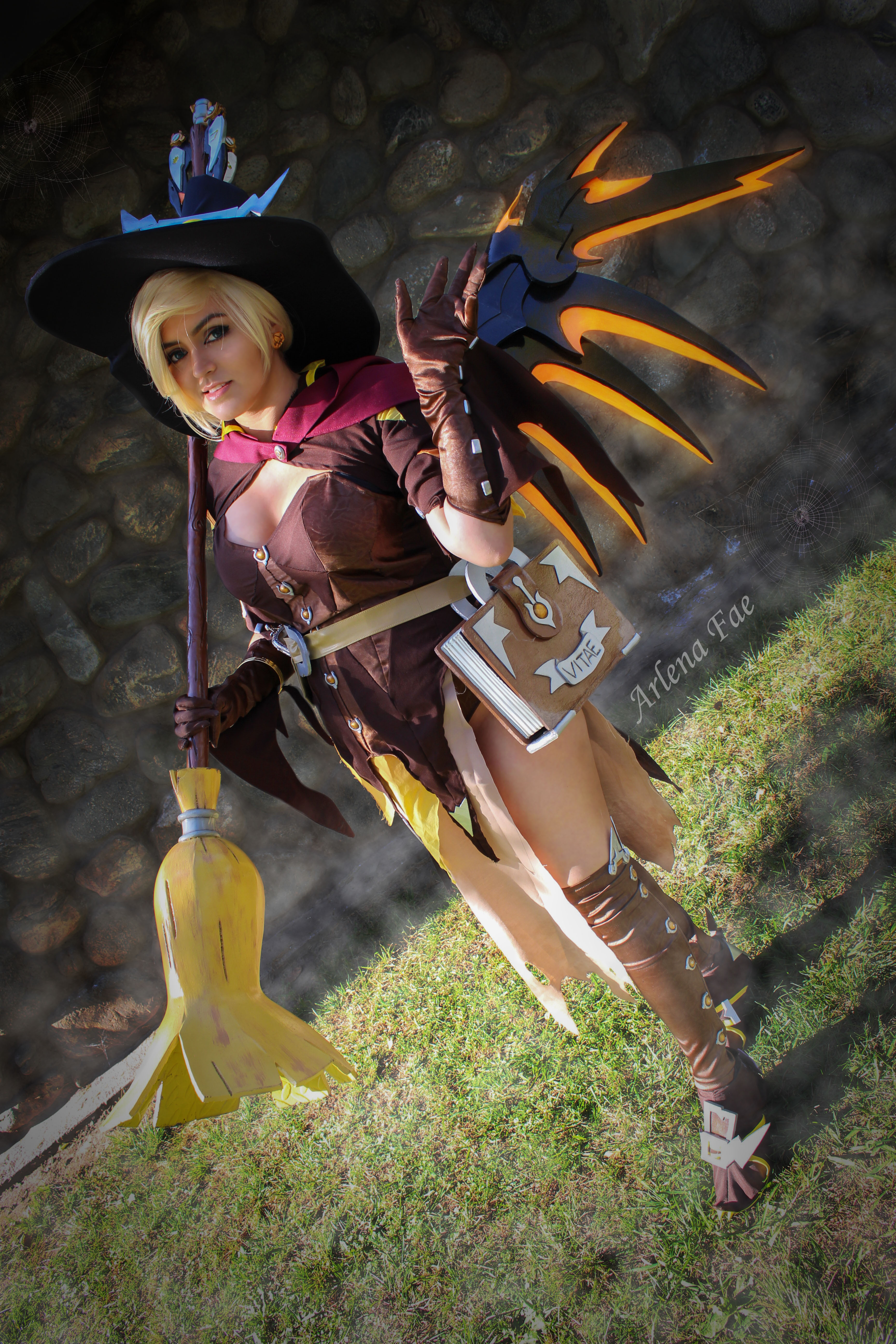Witch Mercy Costume Pattern Fae S Trinkets Prints Online Store