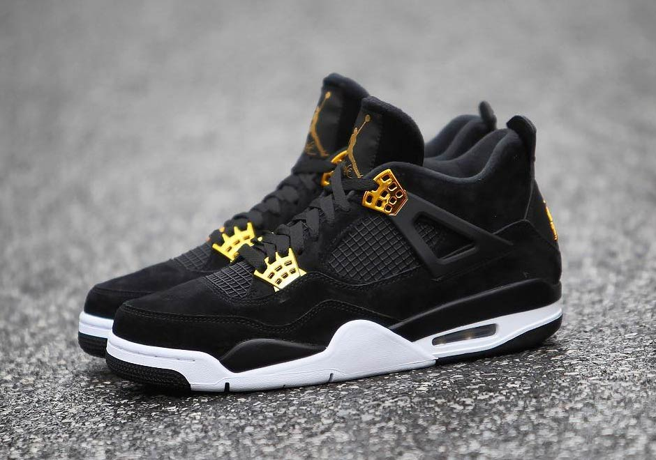 "Nike Air Jordan 4 ""Black Suede"" Retro Shoes On Sale on Storenvy 5e1a2bcf0a94"