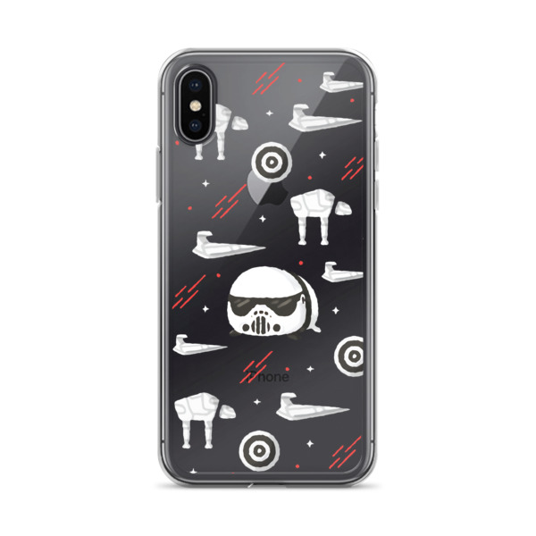 huge discount f7717 1724a Star Wars Stormtrooper iPhone Case from Sweet Floret