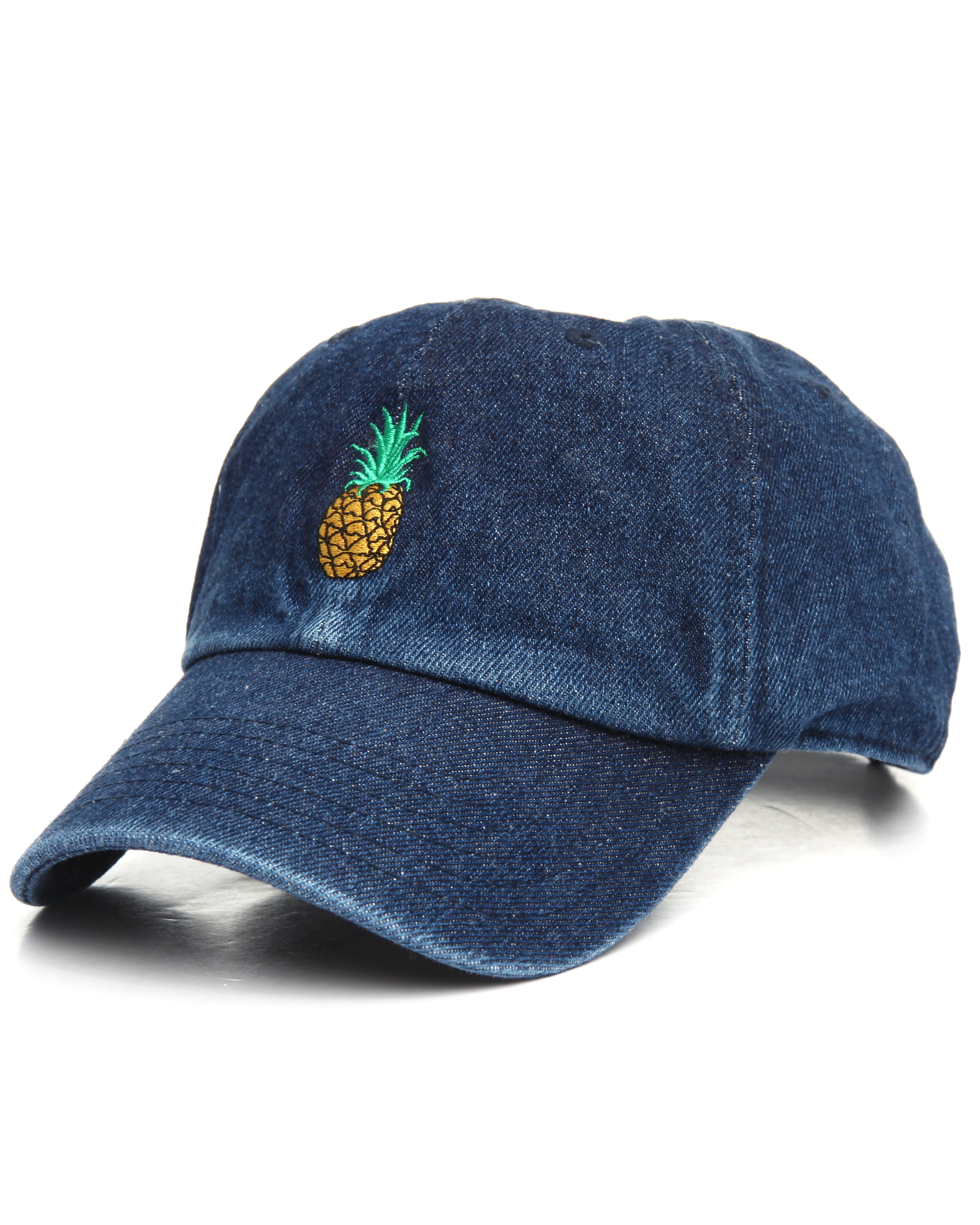 552297f49b85f8 Denim Pineapple Dad Hat · Stush Fashionista · Online Store Powered ...