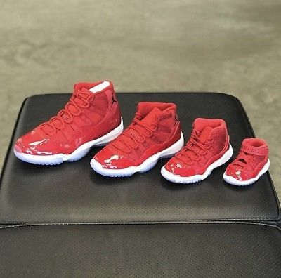 low cost 5e626 13eb7 AIR JORDAN 11 RETRO RED 'WIN LIKE '96' Infant Toddler Preschool from  TroyKicksShop