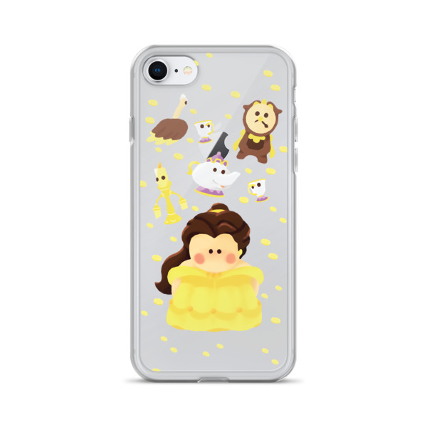 sports shoes 02129 e54f6 Disney Belle iPhone Case from Sweet Floret