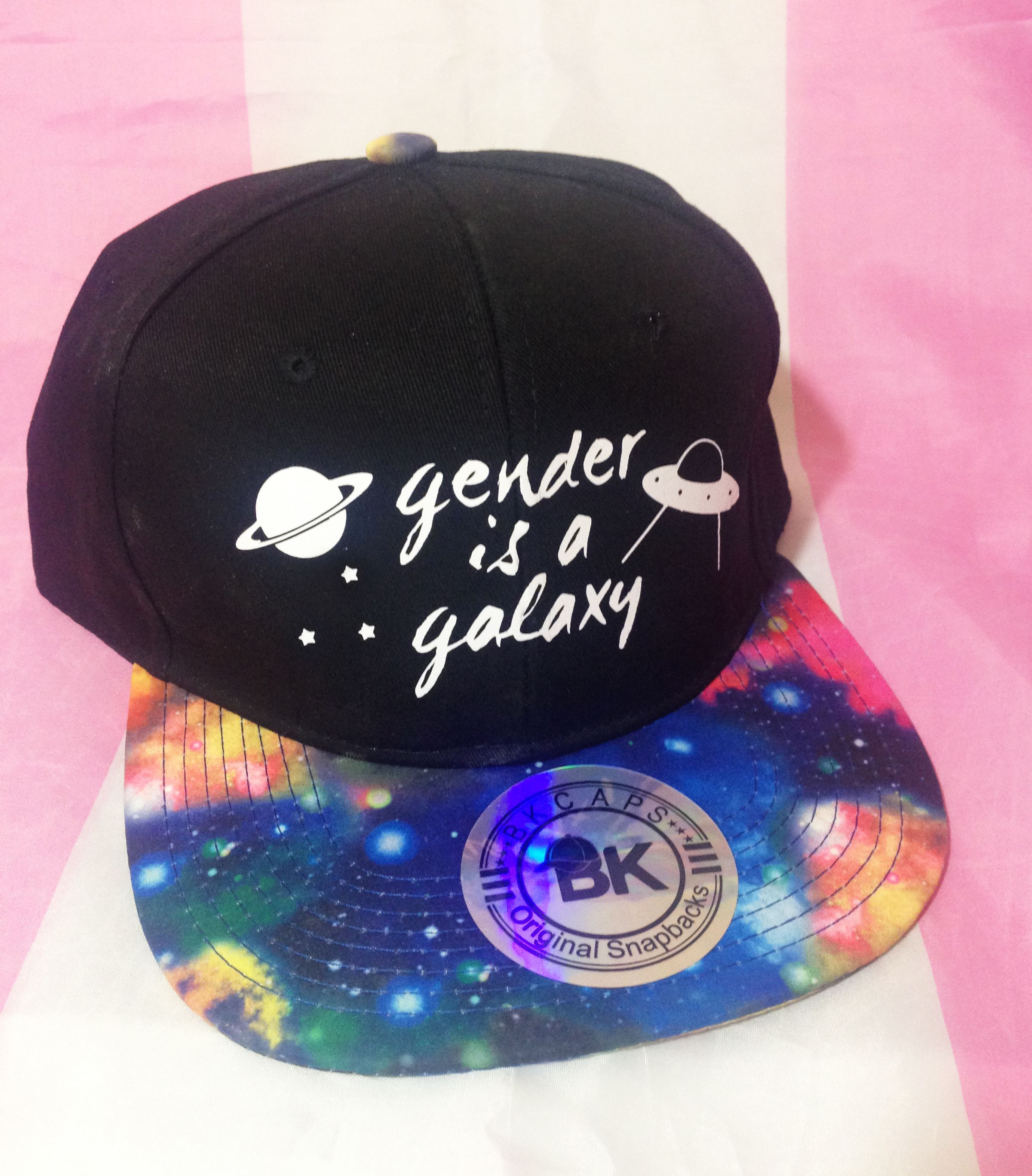 Gender is a Galaxy Snapback · Support the T · Online Store Powered ... a68e3934c4c
