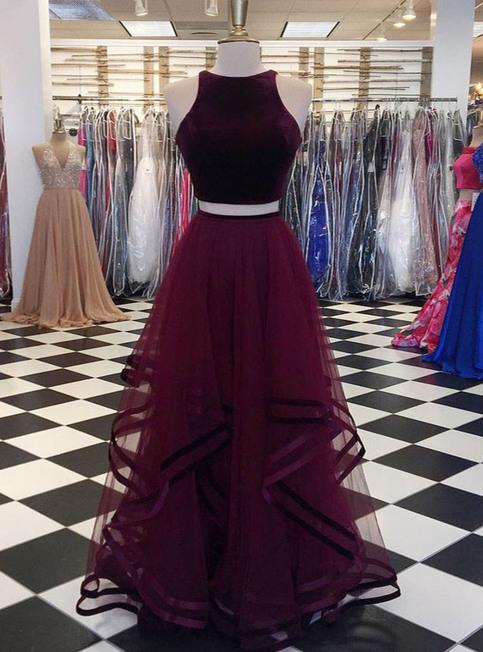 Cheap Prom Dresses By Sweetheartdress 183 Burgundy Velvet