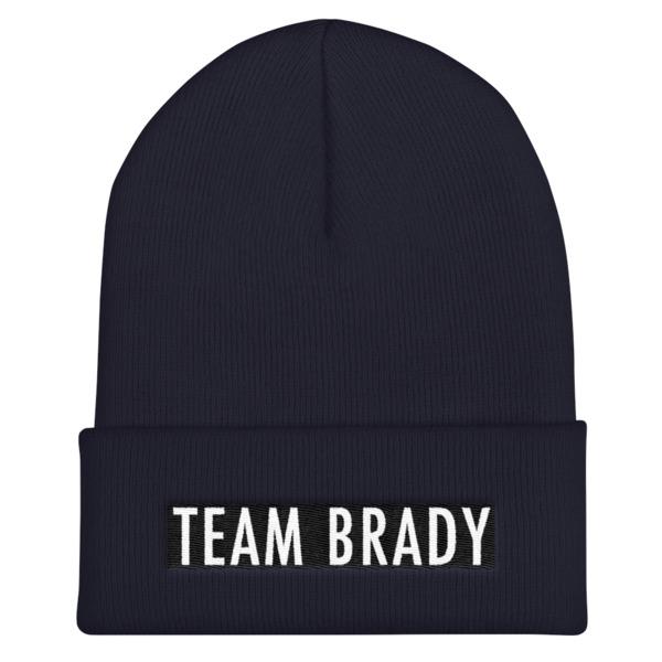 Team Brady Beanie