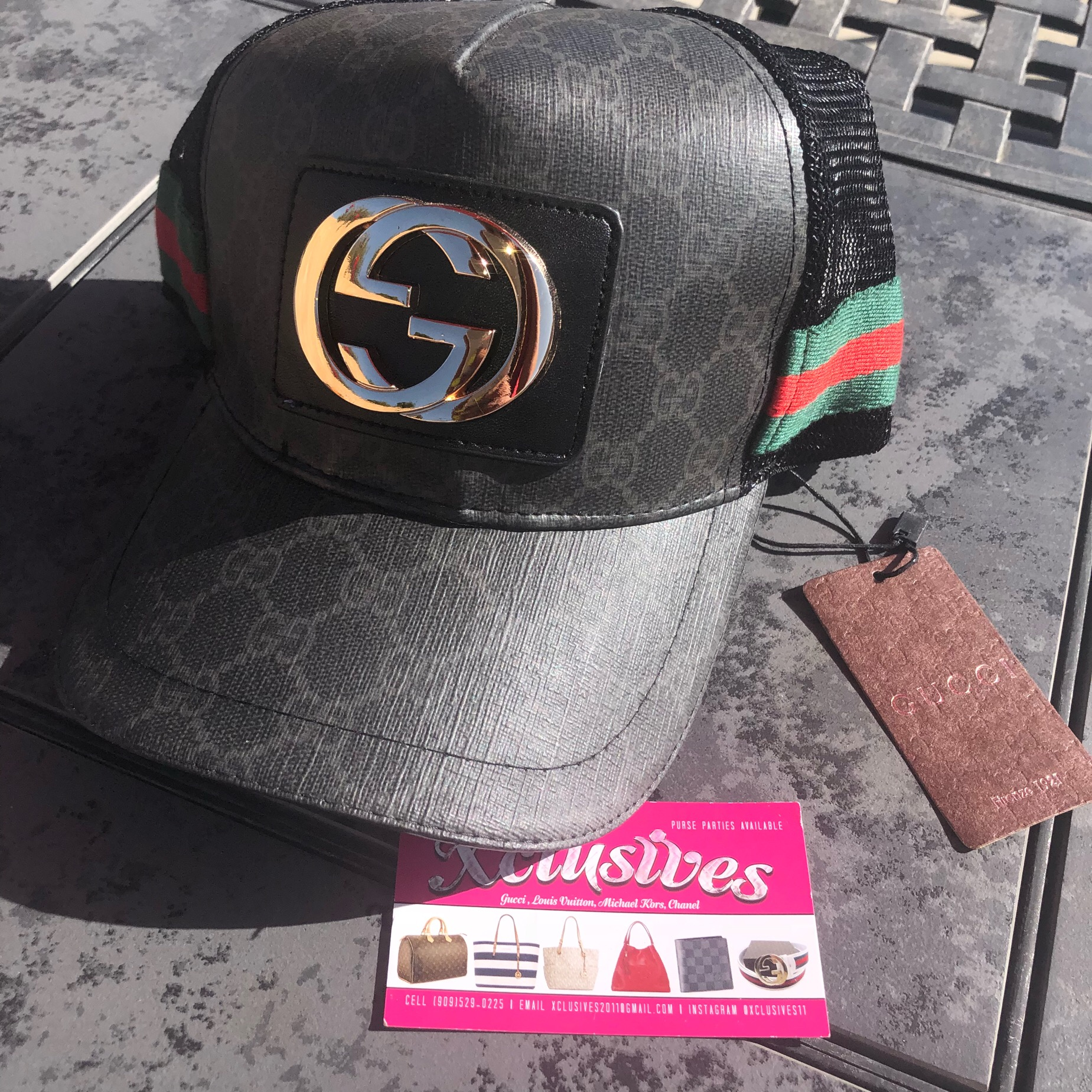 Gucci SnapBack · Xclusives · Online Store Powered by Storenvy fabc2bdf76f