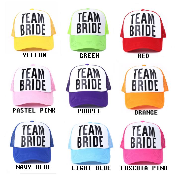 54d3d93d7e726 ... Free DHL Shipping BRIDE   TEAM BRIDE Baseball Hats - Thumbnail ...