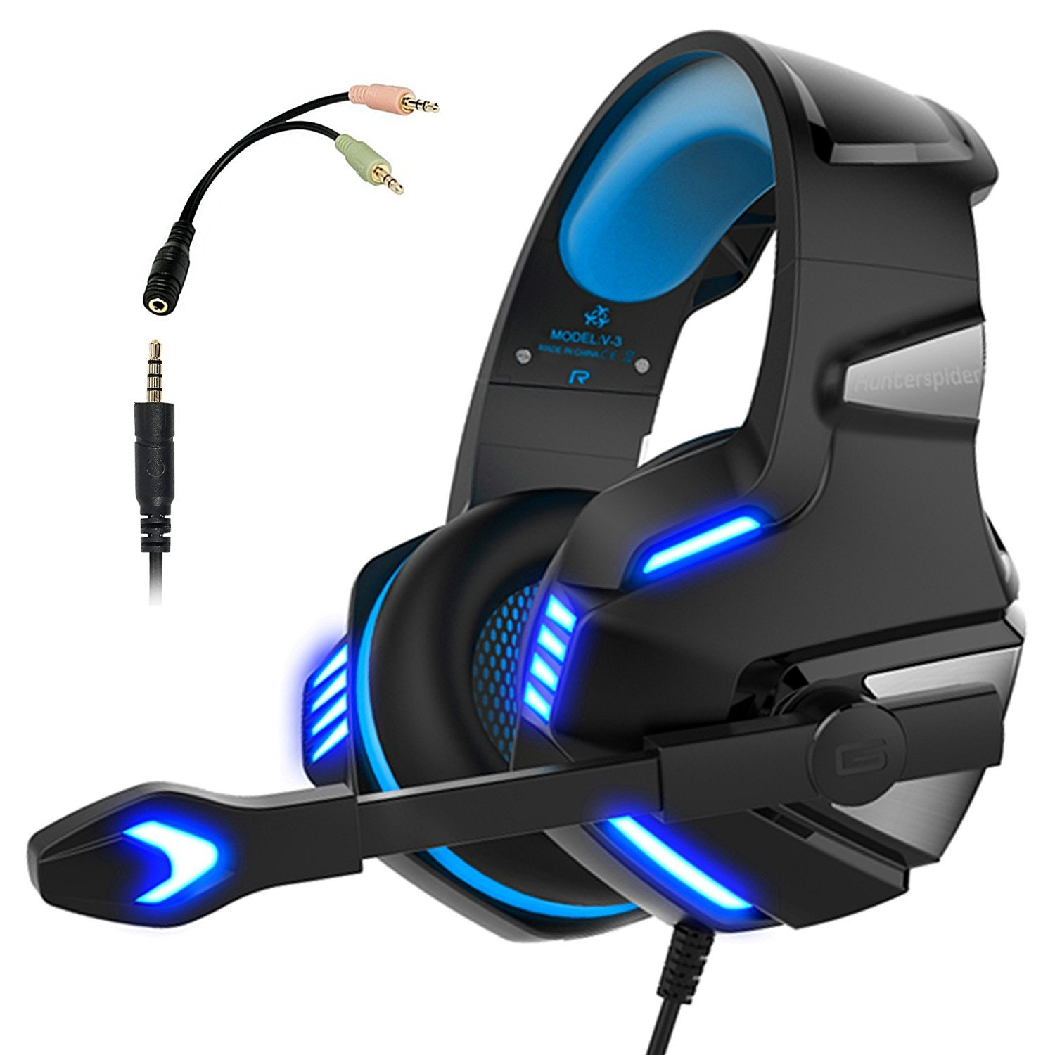 gaming headset for ps4 xbox one micolindun over ear gaming headphones with mic on storenvy. Black Bedroom Furniture Sets. Home Design Ideas