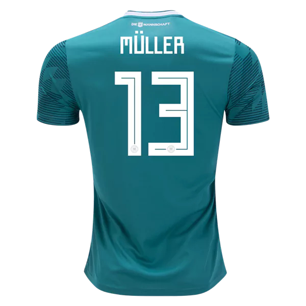 los angeles 75830 45b37 Thomas Muller #13 Germany 2018 National Team Away Soccer Jersey,Deutschland  Men's Football Shirt sold by HoHo Jersey Collection