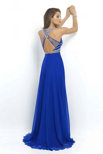 Urbane Outfitters Sapphire Blue Sexy Lace Backless Patchwork Ladies
