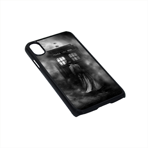 the best attitude 54e65 a4380 Dr Who Tardis British Police Box Case For iPhone X Case
