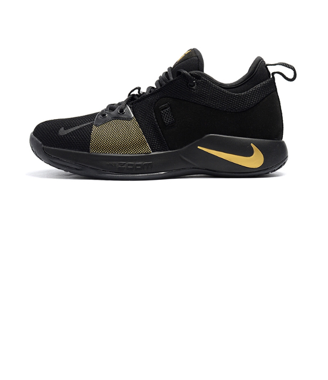 ebff56283a05 High-end Product Nike Paul George PG2 Playstation Black Gold Men s ...