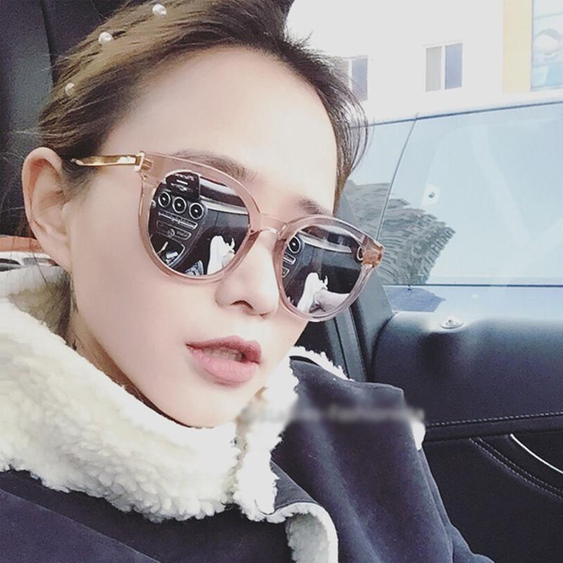 2fd85a928a46a cat eye pink sunglasses woman shades mirror female square sun ...