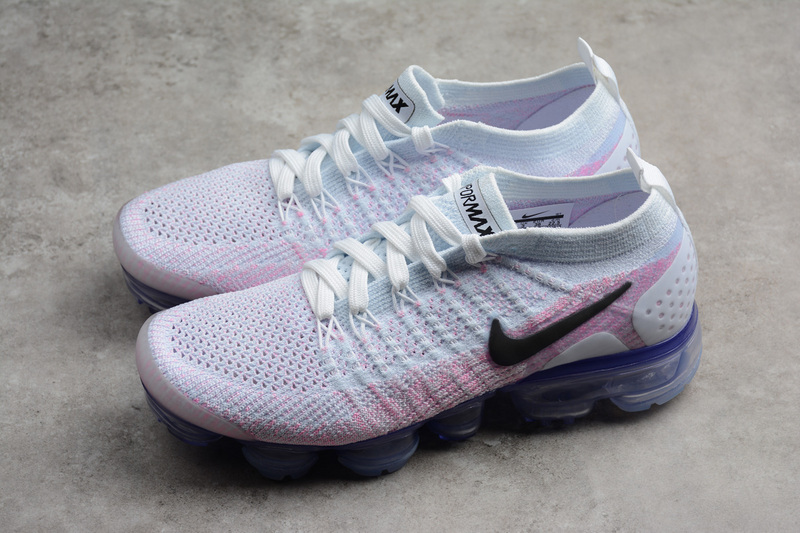 big sale 6ecdd 28b45 Nike Air VaporMax Flyknit 2 Wn's Running Shoes White/pink 942843-102 from  Toms