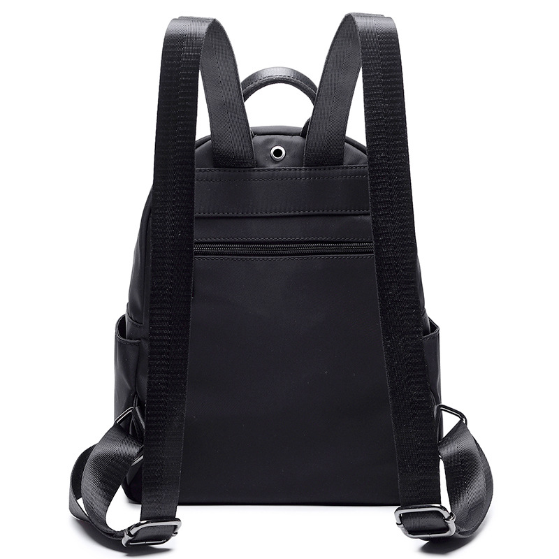 2c7a854a62be ... Oxford cloth + leather bag nylon canvas bag fashion backpack -  Thumbnail 3 ...