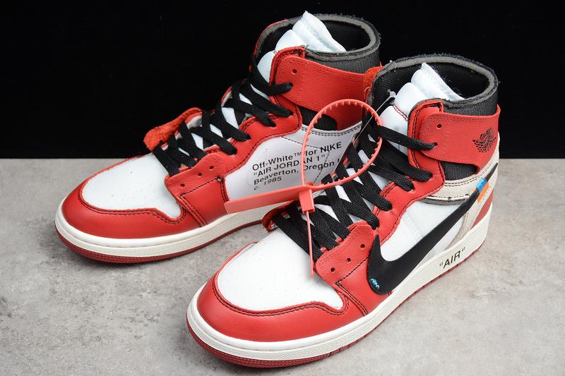 meet 1934b 6df45 Off White x Nike Air Jordan 1 Retro High OG AA3834-101 shoe