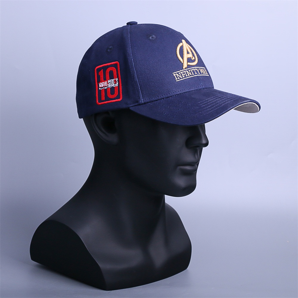 01e86ae7241 Infinity War Crew Hat Equip Embroidered Infinity Gauntlet Cap Marvel  Avengers - Thumbnail 1 ...