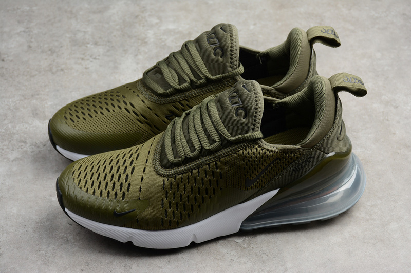 a5bc6da4ffe Nike Air Max 270 Medium Olive Running Shoes AH8050-201 on Storenvy