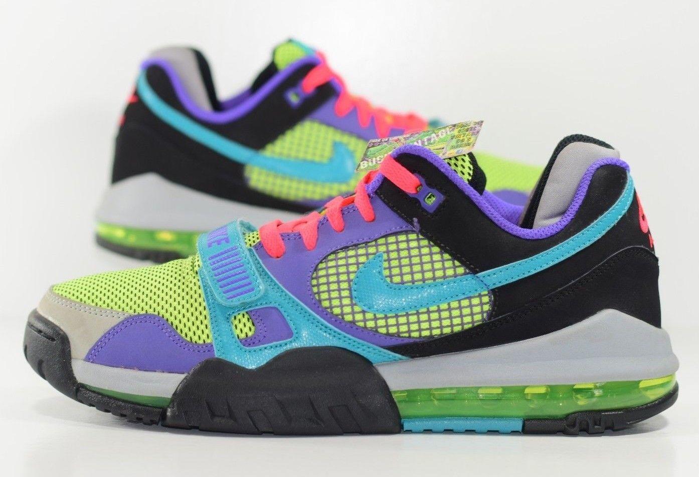 Size 9 | 2013 Nike Air Max 360 Trainer Bo Jackson Unreleased Promo Sample Neon from BucksVintage