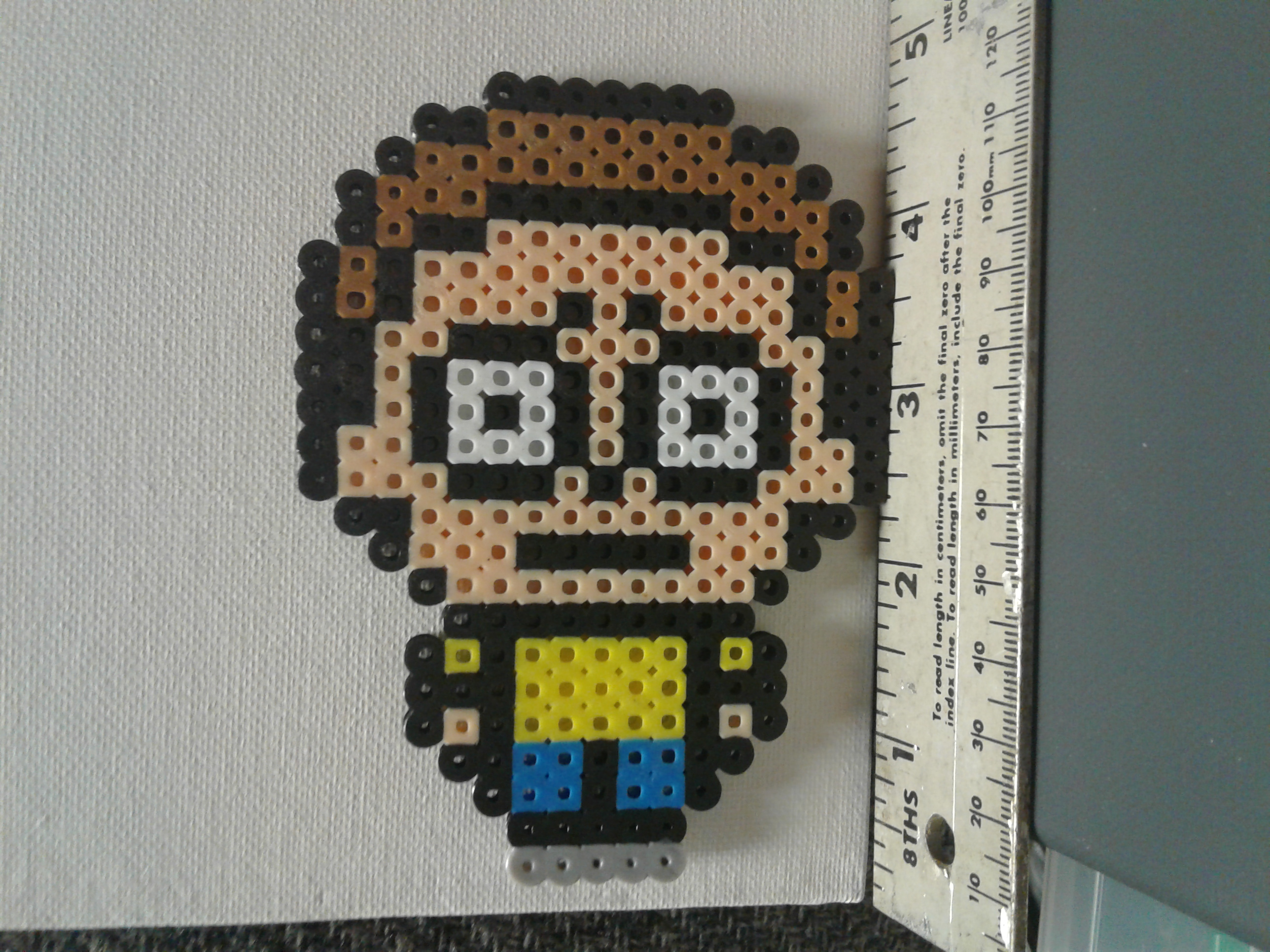 Rick And Morty Perler Bead Sprite Magnet On Storenvy