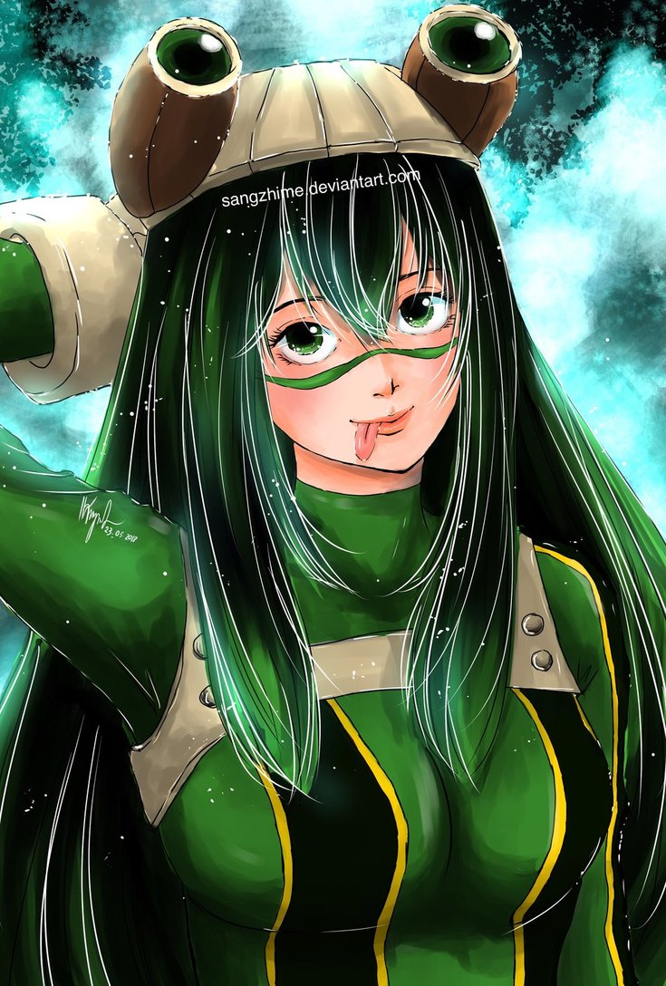 Tsuyu Asui Froppy A4 A5 Print From Sangzhime Art