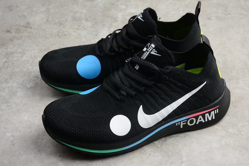 9ca3ea52ded6 Off-White x Nike Zoom Fly Mercurial Flyknit Black AO2115-001 on Storenvy