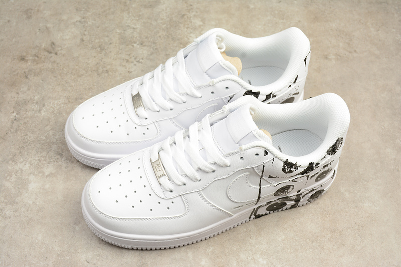 2f49cea74ed7 Supreme x CDG x Nike Air Force 1  07 white AF1 Shoes 923044-100 on ...