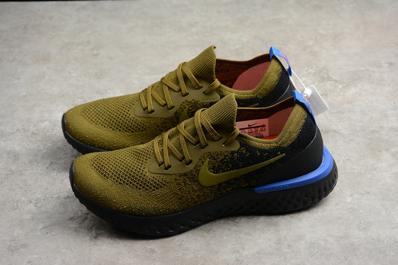 177c214284d Nike Epic React Flyknit Deep Green Running Shoes on Storenvy