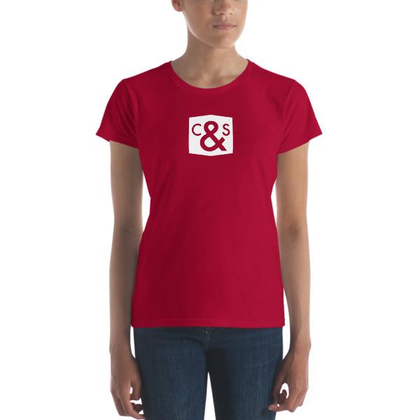 43afdda7 C&S Imprint Women's short sleeve t-shirt · Code & Supply Store ...