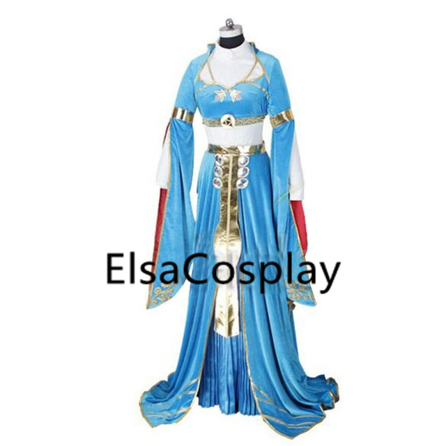 Custom The Legend Of Zelda Breath Wild Costume Princess