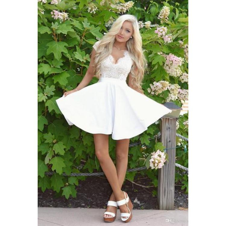 ecf731685f A line Homecoming Dresses
