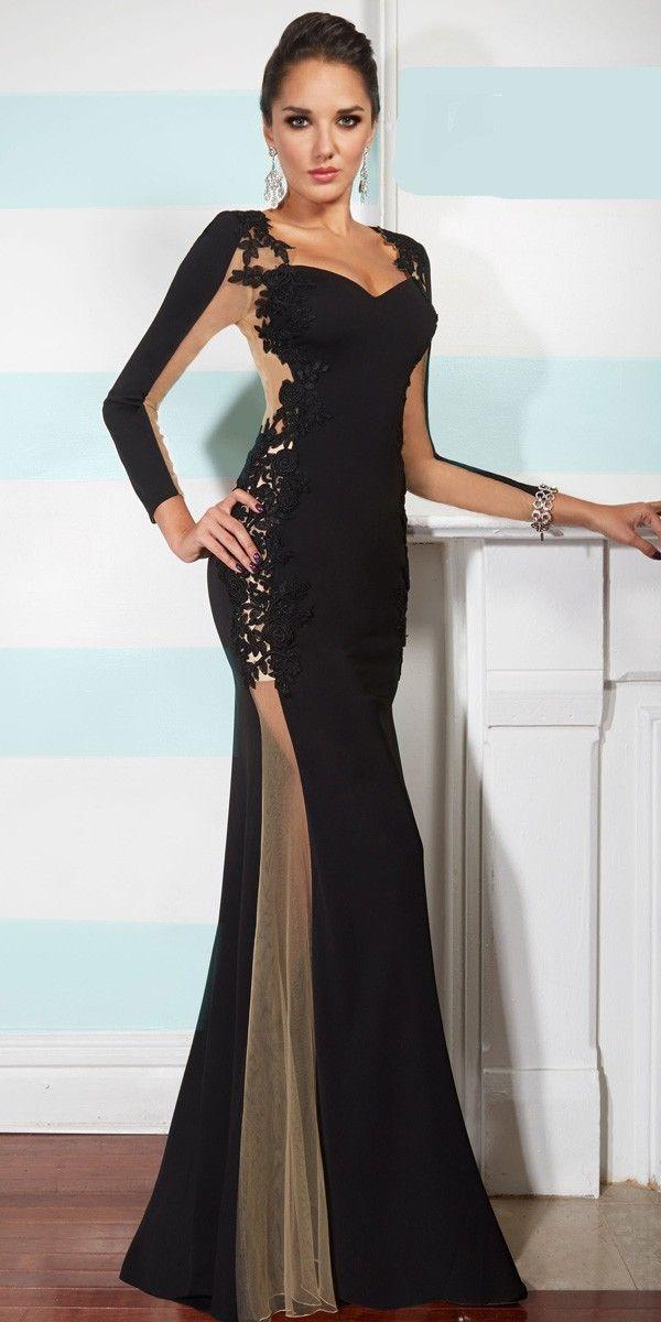 bf7e6e025a 2018 Prom Dresses Gorgeous black chiffon dress Prom dresses special  occasion dresses on Storenvy