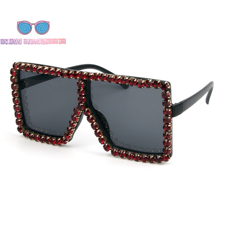 9fb31acfca87 Women s Trendy Rhinestone Sunglasses