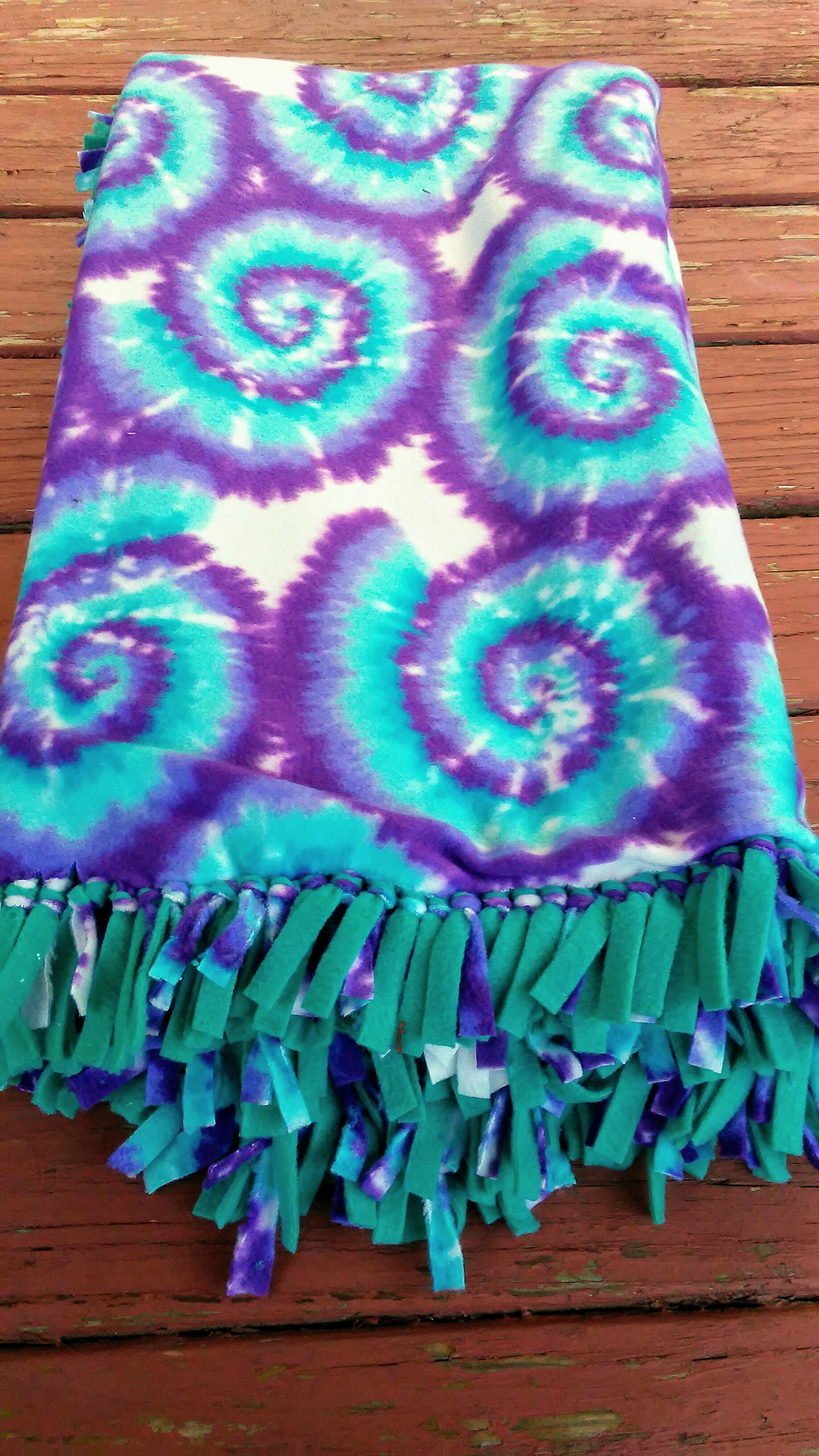 Image of: No Sew Fleece Blankets Weekend Warrior Shopkins Simpsons Blue Star Wars Purple Tie Dye Creativecrafters Online Store Powered By Storenvy