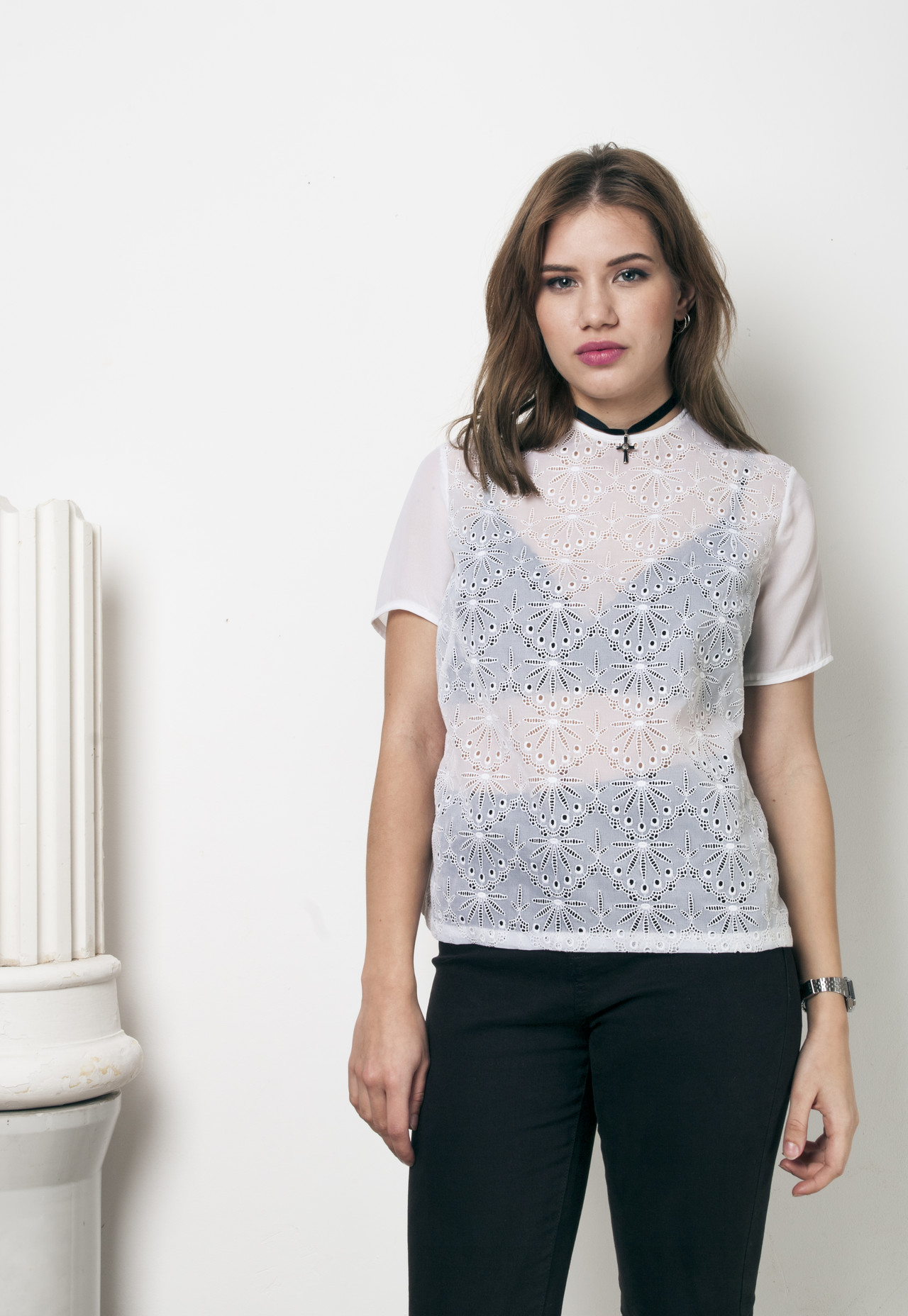 ff3e75351568a 70s vintage lace top · Pop Sick · Online Store Powered by Storenvy