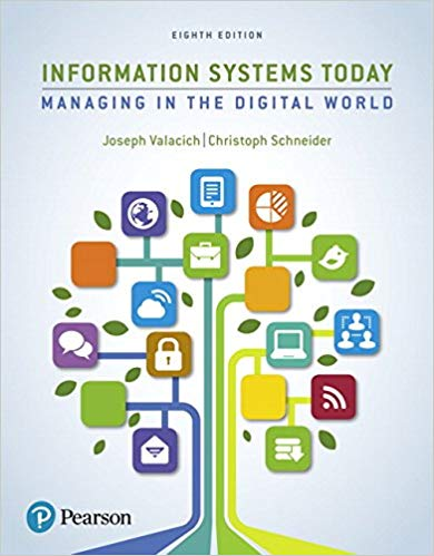 ( PDF) Information Systems Today: Managing in the Digital World 8th by  Valacich 978-0134635200 from colleageestore
