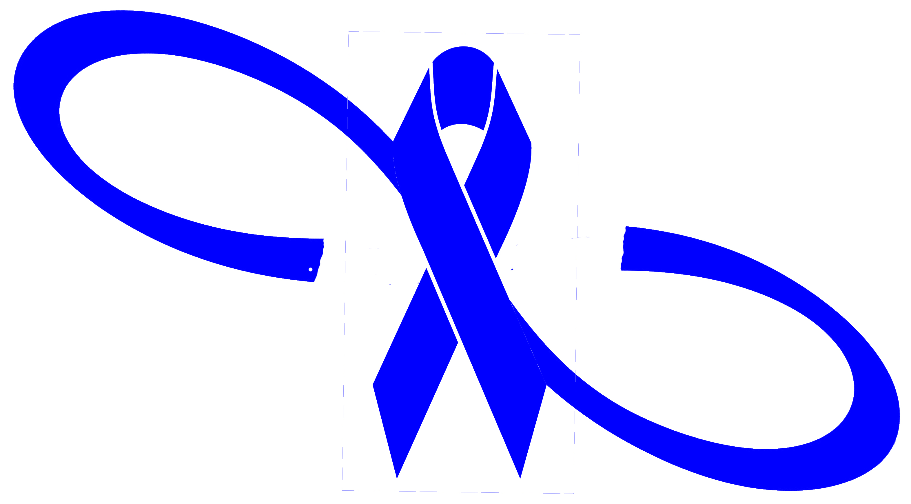 Blue Infinity Ribbon Awareness Decal Abuse Recovery Bullying Colon Cancer Sticker Big Tees Printing Online Store Powered By Storenvy