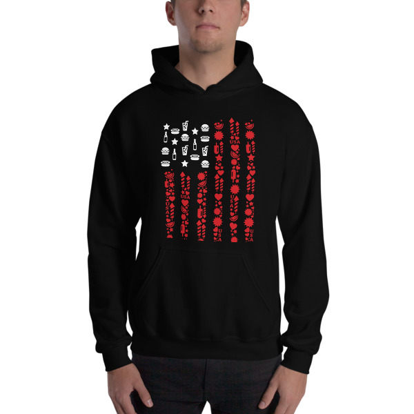 50ec272c2dd Hooded Sweatshirt USA on Storenvy