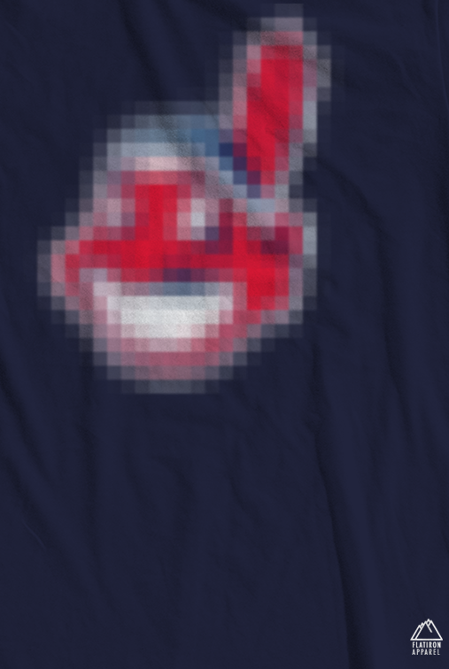 d36ec894 Censored Chief Wahoo (Cleveland Indians) T-Shirt on Storenvy