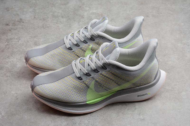7a77b87a5d8 Nike Zoom Pegasus 35 Turbo Gray Green Running Shoes AJ4115-301 ...