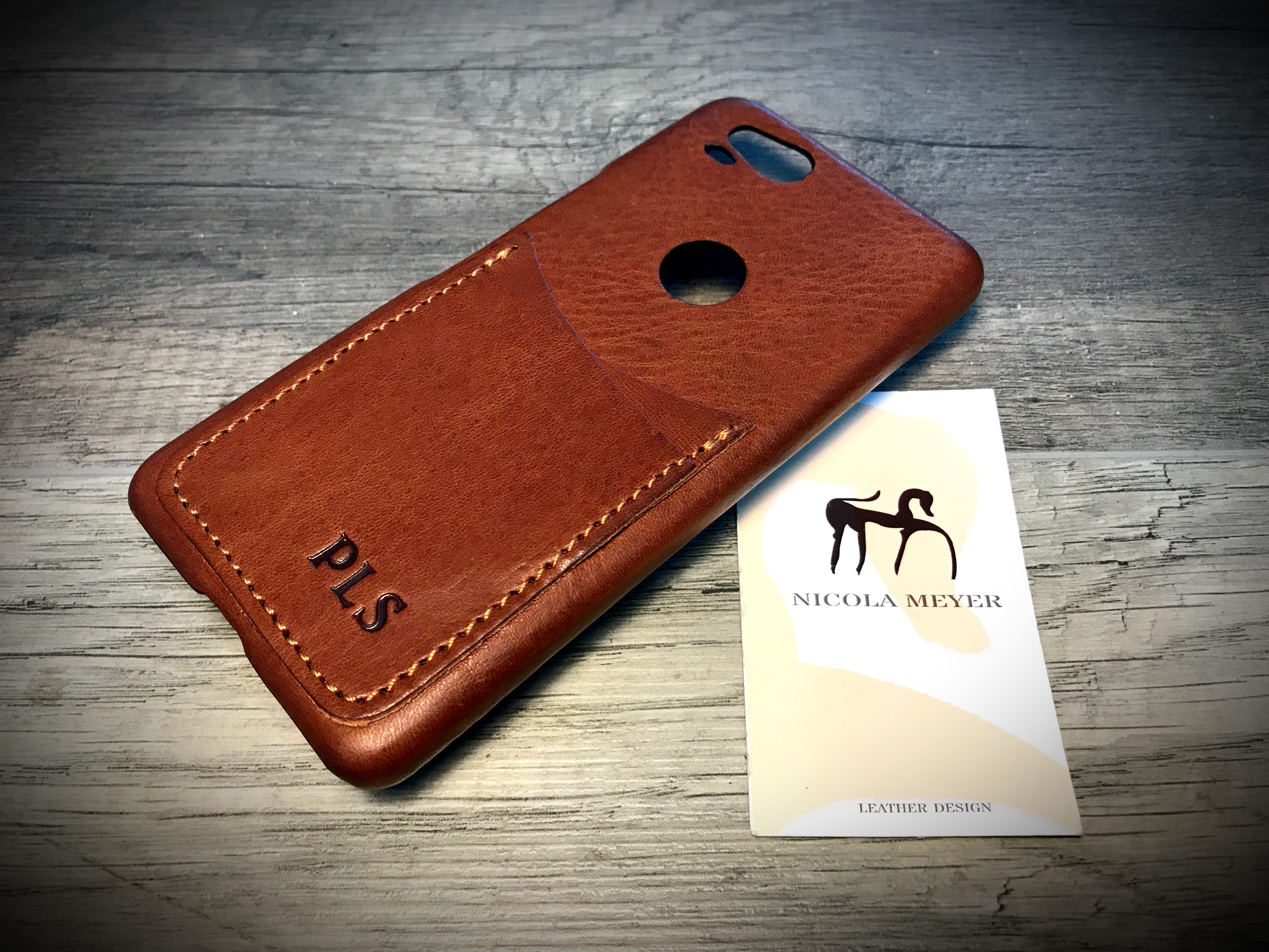 best sneakers 6221d e6470 MONOGRAMMED Google Pixel Leather Case for Pixel 3/2/1 iPhone Xs/Xs Max  /XR/8/7/6/SE/5S Samsung Galaxy 2 card's slots colour 303