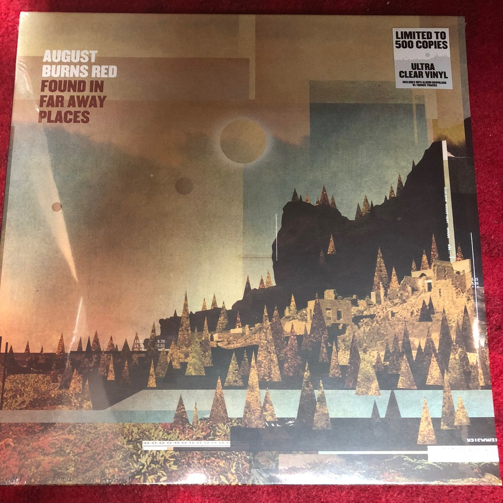 August Burns Red Found In Far Away Places 500 pressed Clear Vinyl sealed  from CI Records
