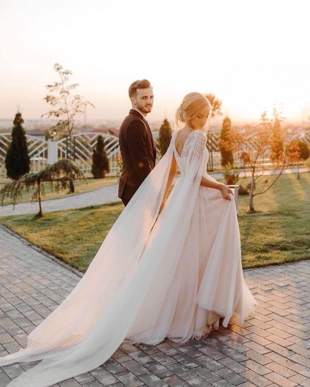 White Cape For Wedding Dress Off 72 Buy