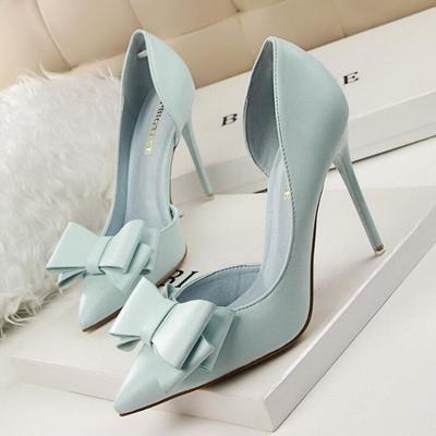 d3005ebbe53f New women s pumps wedding slim high heel pointed toe stiletto party heels  shoes q-0100