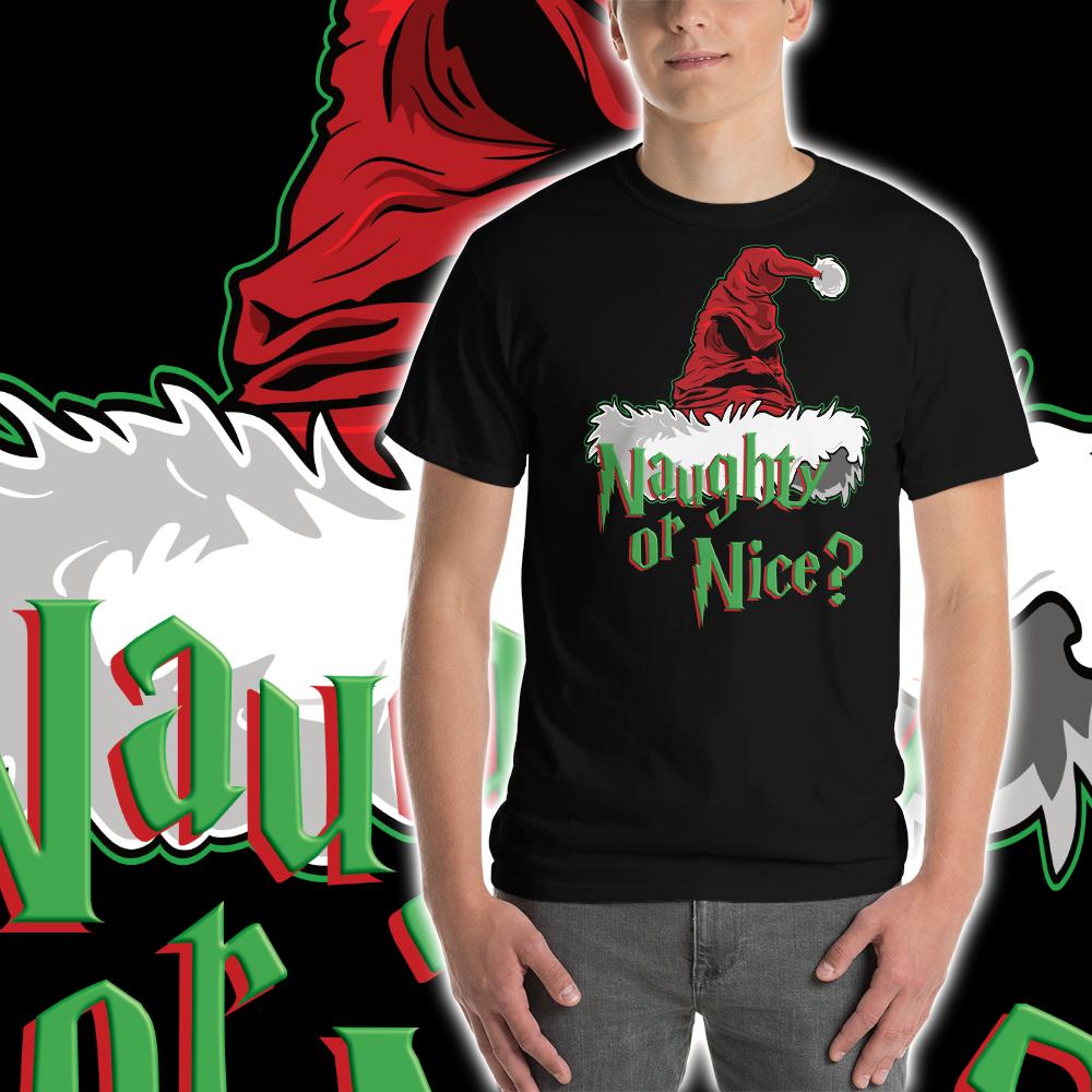 9e819d2e2 Sorta Naughty or Sorta Nice Men's Short-Sleeve T-Shirt on Storenvy