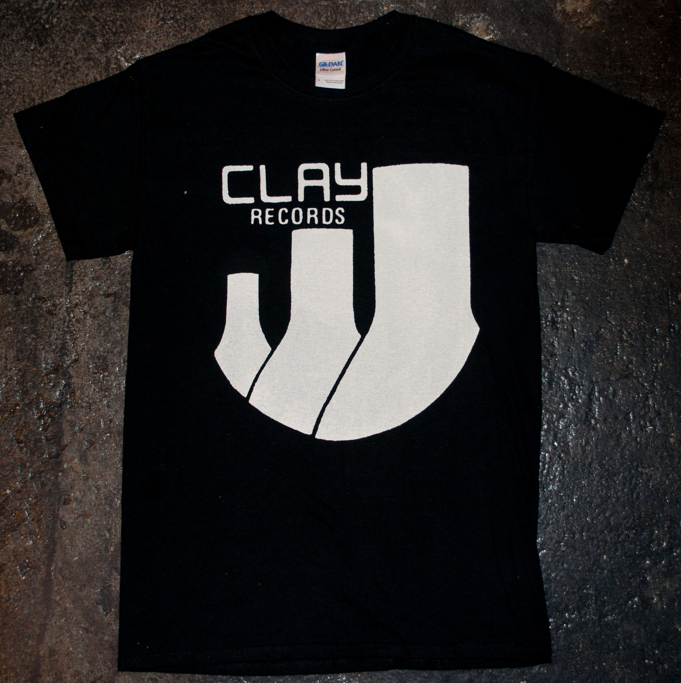 2e6ff563619d8 Clay Records - 'Logo' T-Shirt · Side Two · Online Store Powered by ...